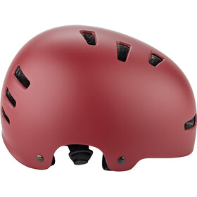 TSG Evolution Solid Color Helm satin oxblood